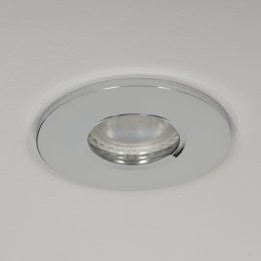 Qr Pro WiZ GU10 4000K LED IP65 Downlight Chrome