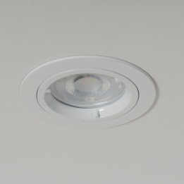 WiZ GU10 2700K LED Twist and Lock Downlight White