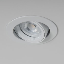 WiZ GU10 2700K LED Twist and Lock Tilt Downlight White