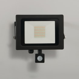 Siena CCT 50W LED Floodlight with PIR