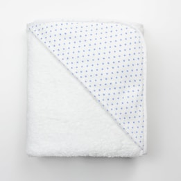 Hooded Towel - Spot Voile Blue
