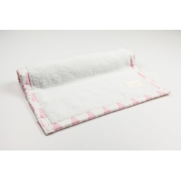 Weekend Changing Mat - Rabbit Trellis Pink