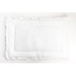 Changing Mat - Spot Voile White