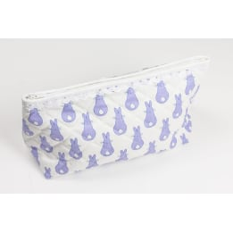 Sponge Bag - Rabbit Trellis Blue
