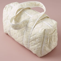 Weekend Changing Bag - Rabbit Trellis Cream