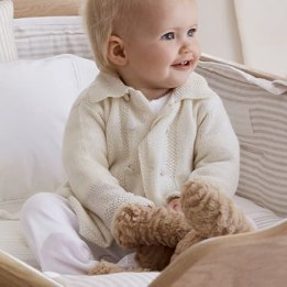 Cashmere Pram Coat - Cream
