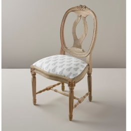 Children's Chair - Rabbit Trellis Grey