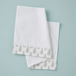 Moses Sheet - Rabbit Trellis Grey