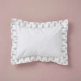 Pillowcase - Rabbit Trellis Grey