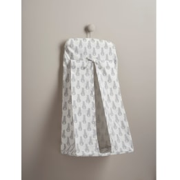 Nappy Stacker - Rabbit Trellis Grey