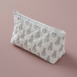 Sponge Bag - Rabbit Trellis Grey
