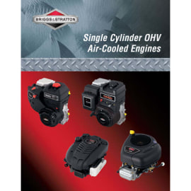 Briggs and Stratton Rep Man- Single Cyl Ohv
