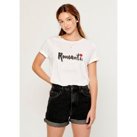 LOLA ROMANTIC Loose T-Shirt - White