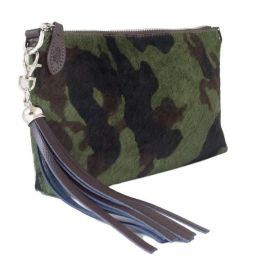 FORGET-ME-NOT Clutch - Camo Furry
