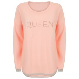 MAYA Queen Hot Fix Jumper - Macarron/Silver