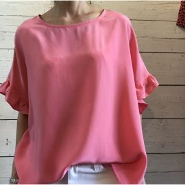 FIRE Silk Top - Sorbet
