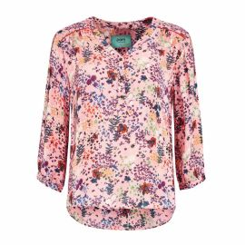 BLOUSE - Flowers Pink by Katja