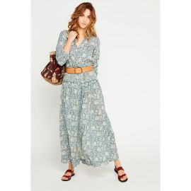 CHIARA Maxi Dress - Indigo
