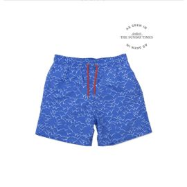UNDA SEAGULLS Swim Shorts - Blue/White