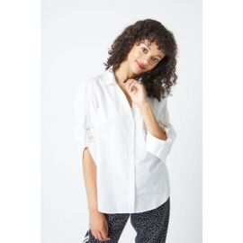 KEITH Popeline Shirt - White