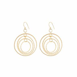 ANYA Kaleidescope Gold Vermeil Earrings