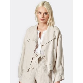 GALLY Linen Jacket - Canvas