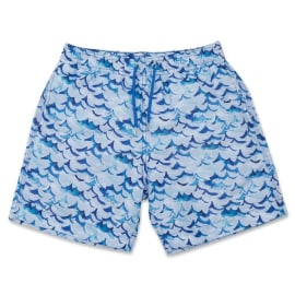 Men's Swim Shorts - Inky Wave