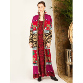 DUSTER - Leopardess Magenta/Red