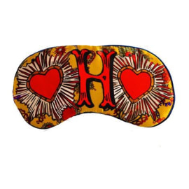 SILK EYE MASK - H for Hearts