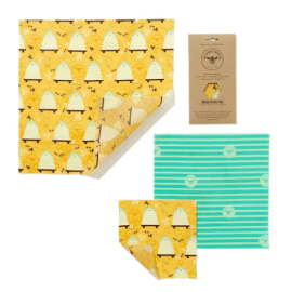 Plastic Free Beeswax Food Wrap - Medium