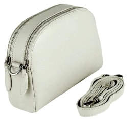 VIOLA Cross-Body Handbag - Cream