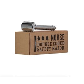 CHROME DOUBLE EDGED SAFETY RAZOR