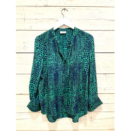 STOWE Blouse - Croc Jungle