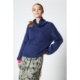 BAY Turtleneck Jumper - Blue