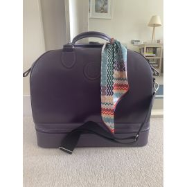 Luxury Leather WEEKENDER Bag - Heather