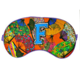 SILK EYE MASK - F for Fan
