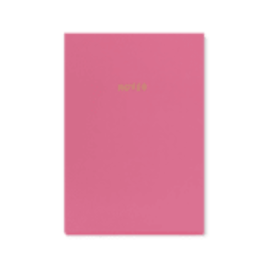 A5 NOTEBOOK - Candy Pink