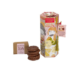 TEA & BISCUITS - Darjeeling & Milk Chocolate Cranberry Biscuits