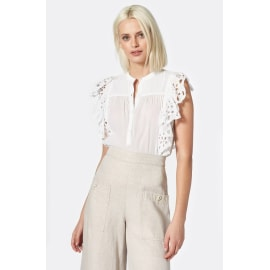 CORALIA Blouse - Clean White