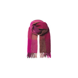 CHECK INGRIA Scarf - Pink
