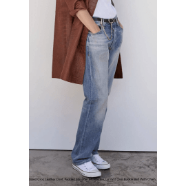 LE SLOUCH Straight Jeans - Light Blue
