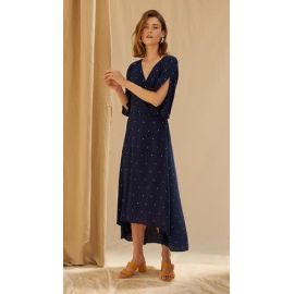 GEORGIA DRESS - Marine Blue