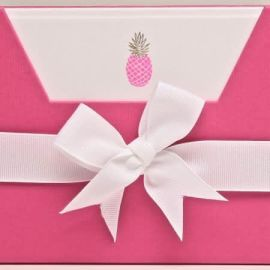 Note Cards - Pink Pineapple