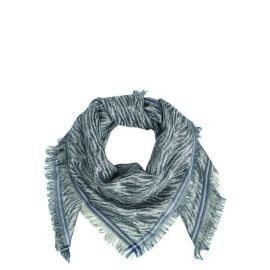 MILLE Zebra Scarf - Light Grey