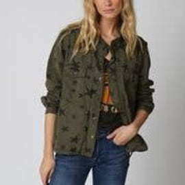 BELLA Jacket - Khaki Star