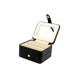 BUTCHART SQUARE JEWELLERY BOX - Black