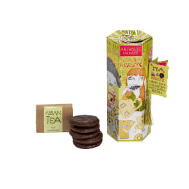 TEA & BISCUITS - Assam Tea & Dark Chocolate Ginger Biscuits