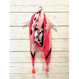 CASHMERE Square - Fame Neon Pink