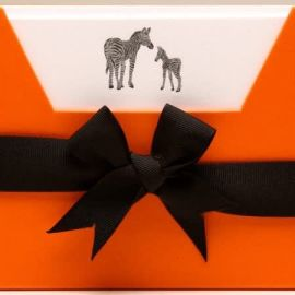 Note Cards - Silver Zebra