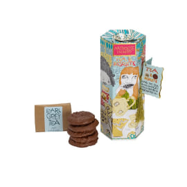 TEA & BISCUITS - Earl Grey Tea & Milk Chocolate Chip & Orange Biscuits